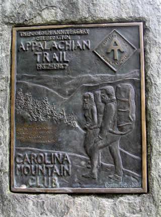 Appalachian Trail - Carolina Mountain Club Marker