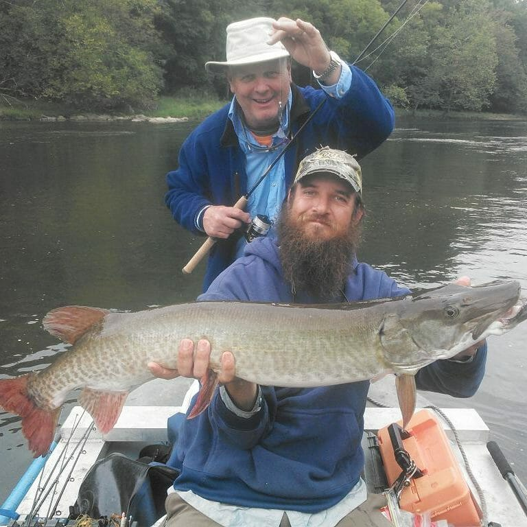 Huge French Broad River Fish
