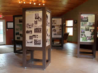Welcome Center Displays