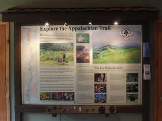 Explore the Appalachian Trail Display