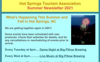 Hot Springs NC Summer 2021 Newsletter
