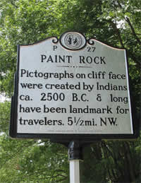 Paint Rock Historical Marker